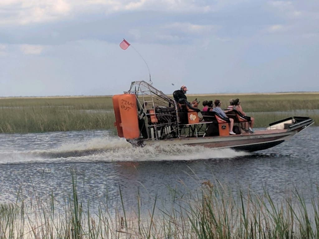 Everglades Airboat Tours in Fort Lauderdale, FL.